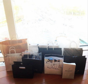 Oops. Too much shopping. Next time I'll need to see more of the actual, you know, sights.