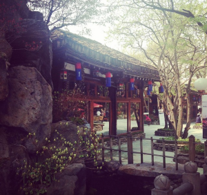 Samwon Garden, an amazingly delicious Korean BBQ restaurant. We ate a lot.