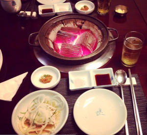 More Korean BBQ. Seriously, we ate a lot.