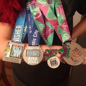 Legacy Girl Mer's AC Half Medal Spread