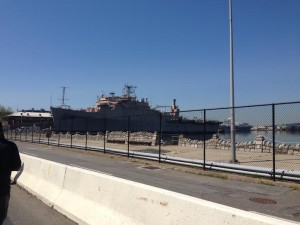 What's a Navy Yard without a ship?